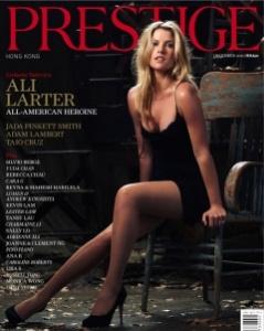 Ali Larter Prestige cover