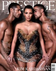 Kim Kardashian prestige cover