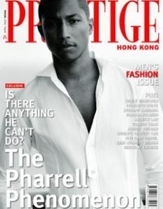 Pharrell front cover prestige
