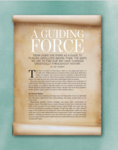 Front page of Guiding Force Article