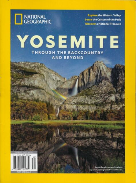 National Geographic Yosemite issue