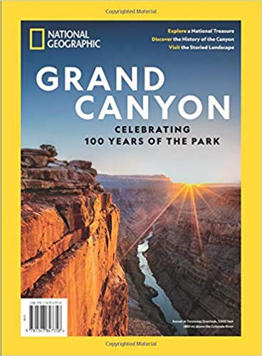 National Geographic Single Issue on the Grand Canyon